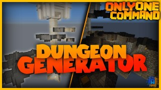 Minecraft: Dungeon Generator Only One Command