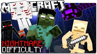 Minecraft: Nightmare Mode Only One Command