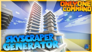 Minecraft: Skyscraper Generator Only One Command