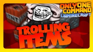 Throwable TNT, Trolling Blocks & Jumpscares In One Command