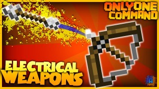 Minecraft: Electric Arrows and Bombs Only One Command