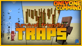 Minecraft: Traps Only One Command