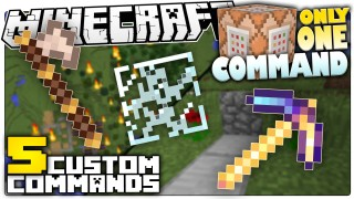 Minecraft: 5 Custom Commands That Make Minecraft Less Annoying Only One Command