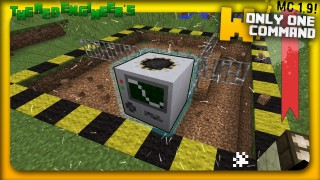 Minecraft: Buildcraft Quarry Only One Command