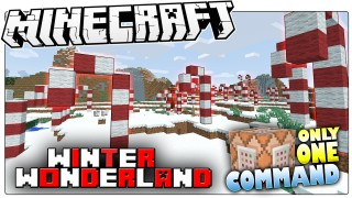 Minecraft: Winter Wonderland Only One Command