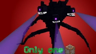 Minecraft:  Wither Storm Boss Battle Only One Command