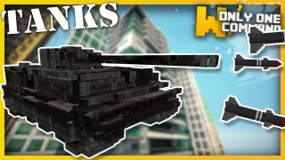 Minecraft: Tanks Only One Command