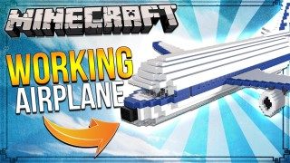 Minecraft: Working Airplane Only One Command