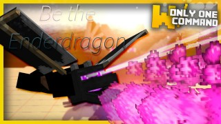 Minecraft: Play As The Ender Dragon Only One Command