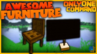 Minecraft: Furniture Only One Command