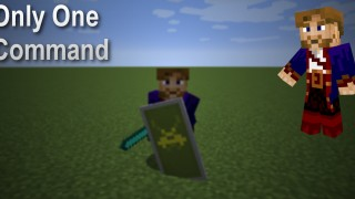 Minecraft: Spin Attack Only One Command