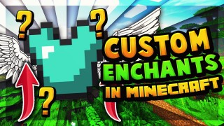 Minecraft: Custom Enchants Only One Command