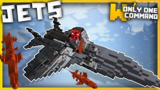 Minecraft: Fighter Jets Only One Command