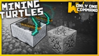 Minecraft: Mining Turtles Only one Command