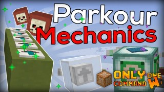 Minecraft: New Parkour Mechanics Only One Command