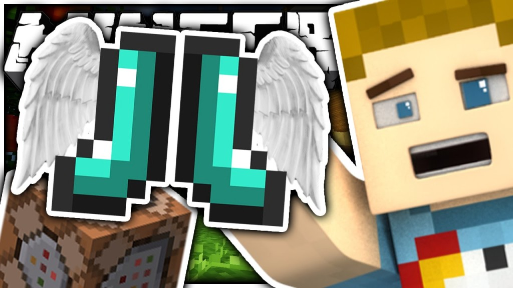 Minecraft: The Elytra Boots Only One Command | Only One ...