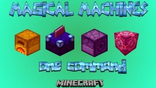 Minecraft: Magic Machines Only One Command
