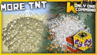 Minecraft: More TNT Only One Command