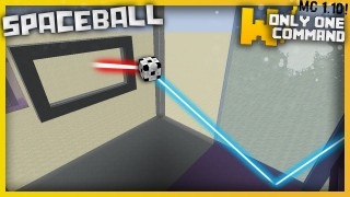 Minecraft: Spaceball Mini Game Only One Command