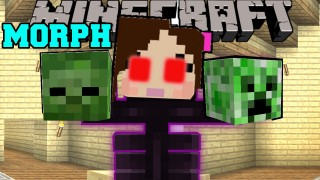 Minecraft: Turn Into Any Mob or Animal (Morph) Only One Command