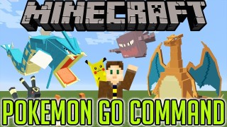 Minecraft: Pokémon GO Only One Command