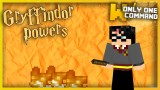 Minecraft: Gryffindor's Magic Powers Only One Command