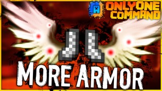 Minecraft: More Armor Only One Command