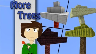 Minecraft: More Trees Only One Command