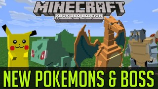 Minecraft: Pokémon GO (New Pokémons + Pickachu Boss) Only One Command