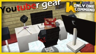 Minecraft: YouTube Gear Only One Command
