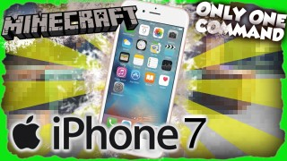 Minecraft: iPhone 7 Only One Command
