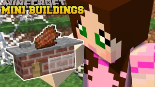 Minecraft: Mini Buildings (Smallest Buildings Ever) Only One Command