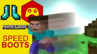 Minecraft: Speed Boots Only One Command