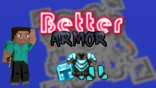 Minecraft: Better Armor Only One Command