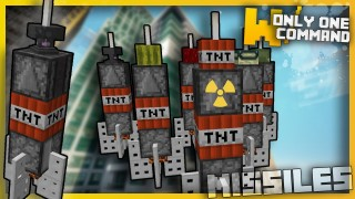 Minecraft: Deadly Missiles Only One Command