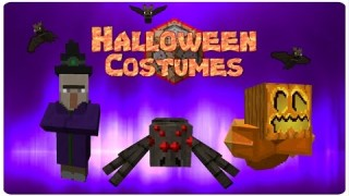 Minecraft: Halloween Costumes Only One Command
