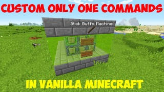 Minecraft: How To Make Your Own Only One Command