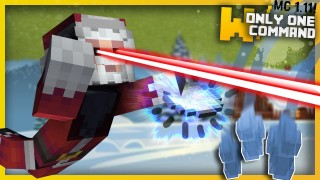Minecraft: Deadly Winter Weapons Only One Command