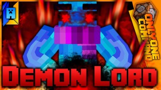 Minecraft: Demon Lord Powers Only One Command (1.11)