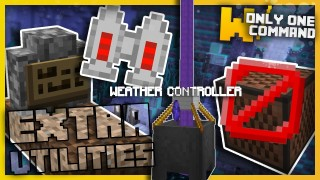 Minecraft: Extra Utilities Mod Only One Command