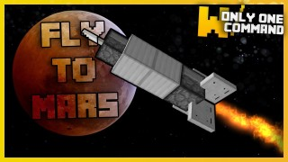 Minecraft: Fly To The Moon (Fly to a new Dimension) Only One Command