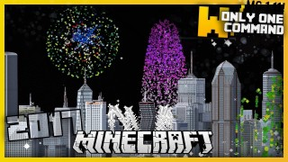 Minecraft: Illegal Advanced Fireworks Only One Command