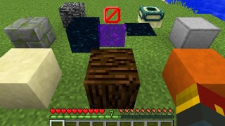 Minecraft: Secret Blocks Only One Command