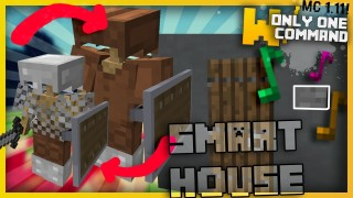 Minecraft: Smart House Devices Only One Command