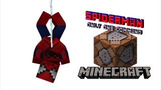 Minecraft: Spiderman Only One Command