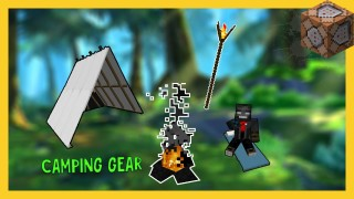 Minecraft: Camping Gear Only One Command