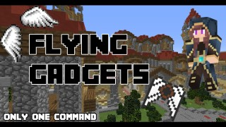 Minecraft: Flying Gadgets Only One Command