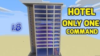 Minecraft: Hotel Only One Command