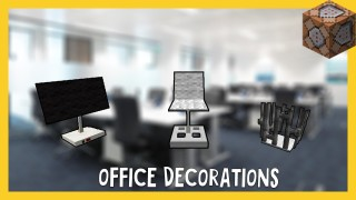 Minecraft: Office Decorations Only One Command