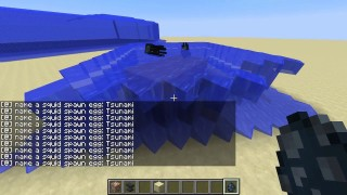 Minecraft: Tsunami Only One Command